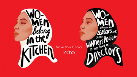 ZOYA: Leadership Print Ad by LUP, Jakarta