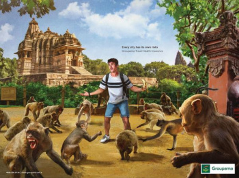 Groupama: India Print Ad by Lokal