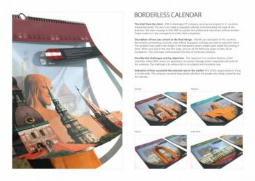 R.I.S.K COMPANY: BORDERLESS CALENDAR Design & Branding by JEYKHUN IMANOV STUDIO
