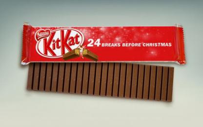 Kit-kat: Kit Kat Advent Calendar, 1 Direct marketing by J. Walter Thompson Frankfurt
