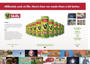 V Energy Drink: V Skills Film by Clemenger BBDO Sydney, Tkt Sydney