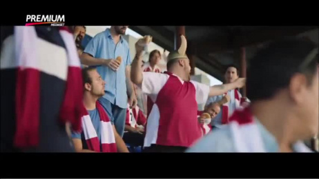 Mediaset Premium: Football makes you happy? Watch it then. Film by STV DDB Milan