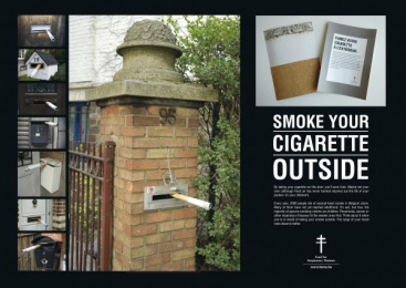 Fares: SMOKING MAILBOX Outdoor Advert by Lg&f
