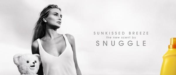 Snuggle Sunkissed Breeze Fabric Softener: STARING Print Ad by Campbell Ewald