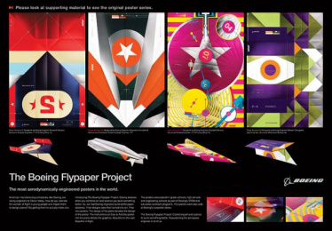 Boeing: Flypaper, 5 Design & Branding by FCB Chicago