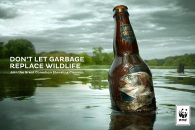 WWF: Trout Print Ad by Traffik