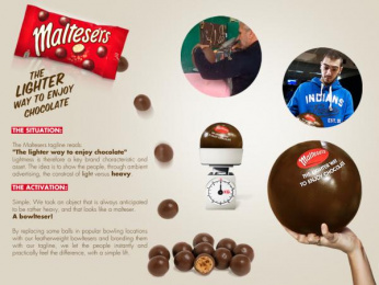 Maltesers: The lighter Ball Outdoor Advert by Impact BBDO Beirut