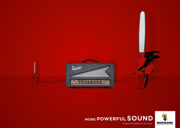 Kıvılcım Müzik: More Powerful Sound, 1 Print Ad by DokuzDoksan