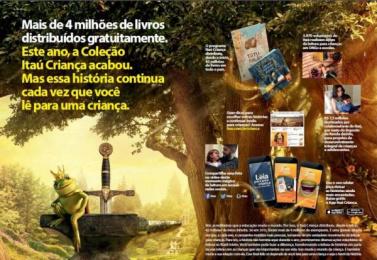 Itau Bank:  Leia para uma criança, 2 Digital Advert by DPZ Sao Paulo