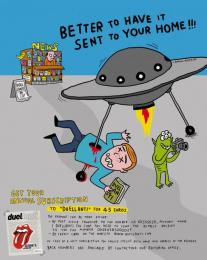 Duellanti: UFO Print Ad by Publicis Italy