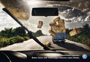 Volkswagen Services: HAY Print Ad by DDB Berlin