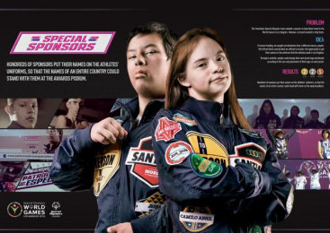 Special Olympics: Special Sponsors [image] Digital Advert by Leo Burnett Bogota