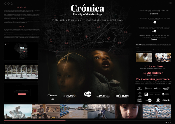 Crónica, the city of disadvantage - Board