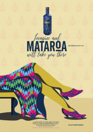 Mataroa: Imagine, 3 Print Ad by Mr. Brain Propaganda