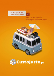 Custo Justo: The Search, 1 Print Ad by Opal Publicidade