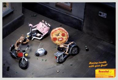 Digestive Pills: BACKYARD Print Ad by DDB Berlin