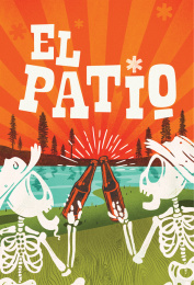 Newfangled Brew Works: El Patio Can Design Print Ad by quench Harrisburg