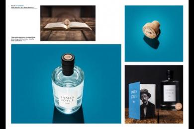 James Joyce Gin: James Joyce Gin, 3 Design & Branding by Shane O'Riordan Design Ireland