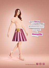 Centre Comercial Diagonal Mar: Sales, 1 Print Ad by Bungalow 25 Madrid, J. Walter Thompson Barcelona