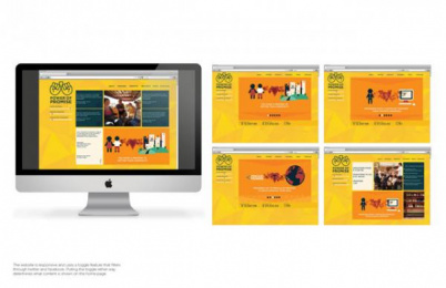 Pencils of Promise: Power of Promise, 2 Digital Advert by Columbus College of Art and Design (CCAD)