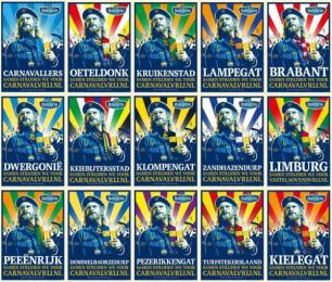 Bavaria: Ik wil met #carnavalvrij [image] 2 Print Ad by Fama Volat