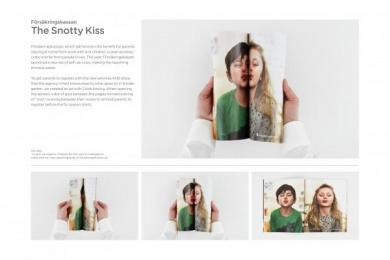 Försäkringskassan: THE SNOTTY KISS Promo / PR Ad by Lowe Brindfors Stockholm