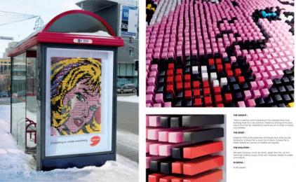 Deserres Art Store: Pastel Print Ad by Nolin BBDO Montreal