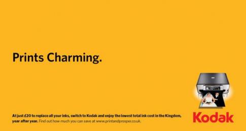 Kodak Inkjet Printers: Royal Wedding, 1 Print Ad by Ogilvy & Mather London, OgilvyAction London, OgilvyOne London