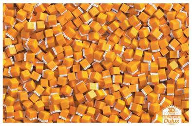 Dulux: Orange Finish [english] Print Ad by Taproot Mumbai
