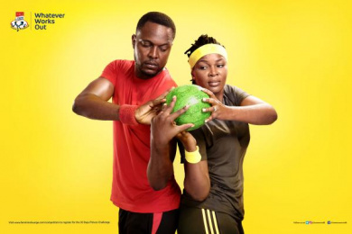 Three Crowns Milk: Watermelon Print Ad by Noah's Ark Lagos