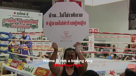 Thailand's Men and Women Progressive Movement Foundation: Home is not a boxing ring Digital Advert by J. Walter Thompson Bangkok, Klackfilms