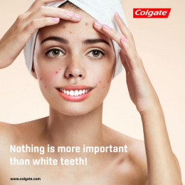 Colgate: White Teeth, 1 Print Ad by University AAB Kosovo