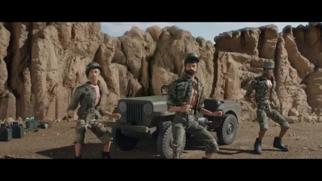Moneysupermarket.com: Epic Action Man Film by MJZ, Mother London