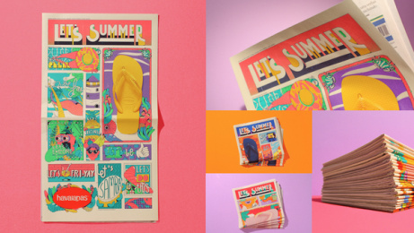 Havaianas: Let's Summer News, 6 Print Ad by ALMAP BBDO Brazil