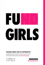 Jwt: FU girls Print Ad by J. Walter Thompson London