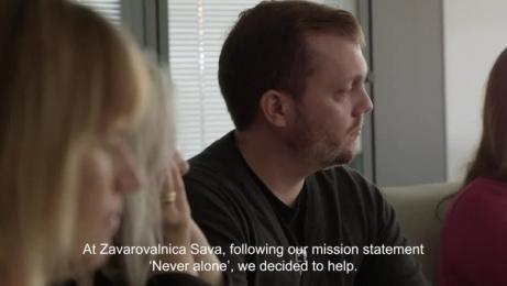 Zavarovalnica Sava: When Loneliness Calls Film by Luna\TBWA Ljubljana