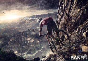 The North Face: Bike Print Ad by Ingenia Lima Peru