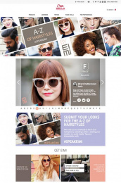 Wella: A Z Of Hairstyles Digital Advert by Proximity Paris