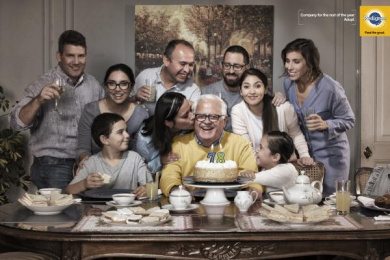 Pedigree: Birthday - Grandpa Print Ad by BBDO Santiago