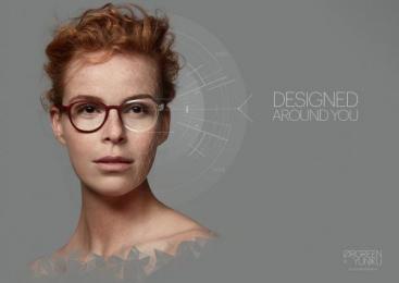 Orgreen Optics: Adinda Print Ad by Energize