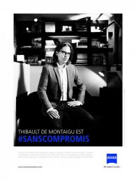 Zeiss: Thibault De Montaigu Print Ad by gyro Paris