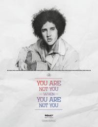Red17 hair salon: Elvis Print Ad by White Rabbit