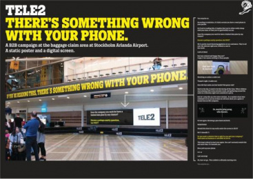 Tele2: What´S Wrong With Your Phone? Outdoor Advert by Forsman & Bodenfors Gothenburg