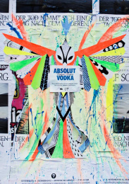 Absolut Vodka: UNIQUE POSTER NR.7 Outdoor Advert by TBWA\ Dusseldorf