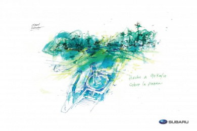 Subaru: The Art Of Driving, 3 Print Ad by I N D E P E N D I E N T E Panama City
