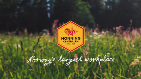 Honningcentralen (The Honey Central): Norway's largest workplace: Business Idea Film by Atyp Oslo