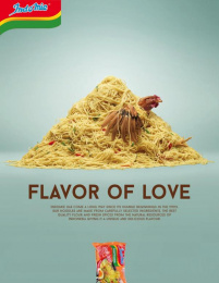 Indomie: Flavor of Love, 1 Print Ad by Team collaboration
