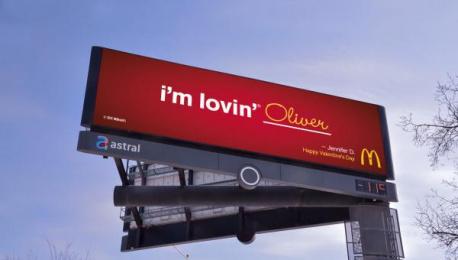 McDonald's: I'm lovin' ____, 3 Outdoor Advert by Cossette Toronto