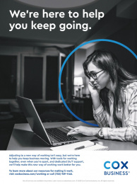 Cox Business: Keep Going, 2 Print Ad by FCB Chicago
