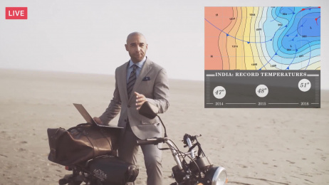 M.J.BALE: Coolest Suit On The Planet Ambient Advert by Eleven, PRODUCTION PARTNERS, Whybin\TBWA Sydney